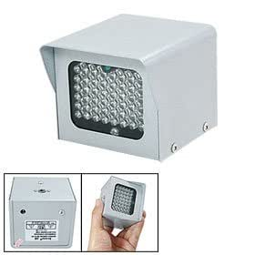 Illuminateur infrarouge avec 48 PCS 5mm lampe LED