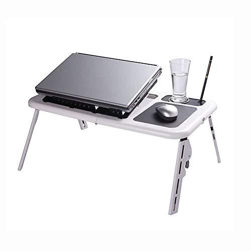 AJKCTebụl Kọmputa Na-Edoziplastische Faltende Laptop-Tabellen-Kühlventilatorenajkc