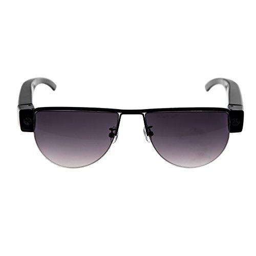 HD Kamera Sonnenbrille TE623 getarnte Überwachungskamera, Langzeitüberwachung, Versteckte Videoüberwachung, SpyCam mit 5 MPix, von Kobert-Goods