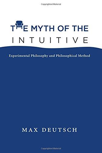 Myth of the Intuitive (A Bradford Book) por Max Emil Deutsch