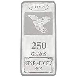 Maa Silver 999 Purity Silver Bar 250gm