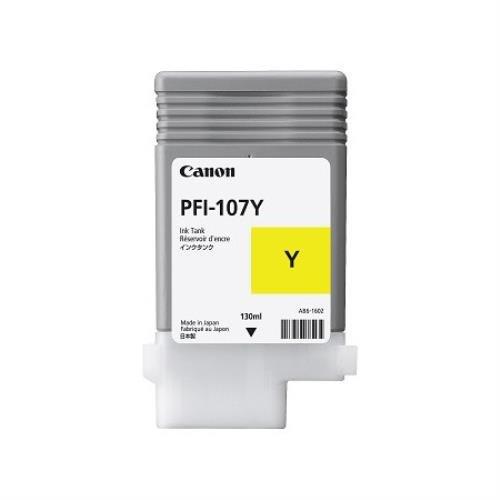 Canon PFI-107 Y Inkjet / getto d'inchiostro Cartuccia