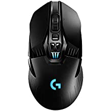 Logitech G903, Souris Gaming sans fil Compatible Système de Charge sans fil PowerPlay, Lightspeed sans fil, Capteur Optique Amélioré, Design Personnalisable, Construction Légère