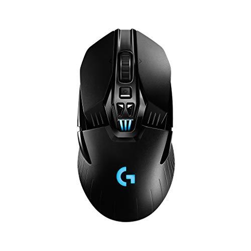 Logitech G903 Mouse da Gioco Wireless con Batteria Ricaricabile, RGB, Peso Personalizzabile, 11 Pulsanti Programmabili