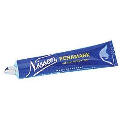 Nissen LCBKB Low Chloride Metal Marker, 3/16 Tip, Black (Pack of 12) by Nissen