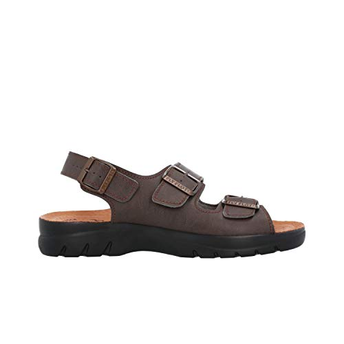 Fly Flot Sandali scarpe uomo marrone anatomico anti shock 62043 44