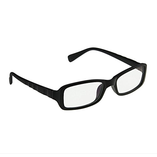 Nerd Brille Frames (Klassische Nerd Brille oder als Sonnenbrille Wayfarer Brille Dekogläser Anti-Strahlung Brillen für Damen und Herren in verschiedenen)