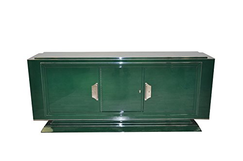 Art Deco Sideboard (OAM Einzigartiges Art Deco Sideboard in Jaguar Racing Green)