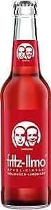 12x fritz-limo Apfel-Kirsch-Holunder-Limo 330 ml