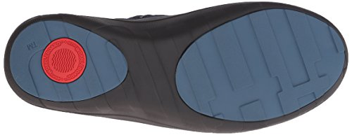 FitFlop - Loaff Slouchy Knee, Stivali Donna Blu (Blue (Supernavy))