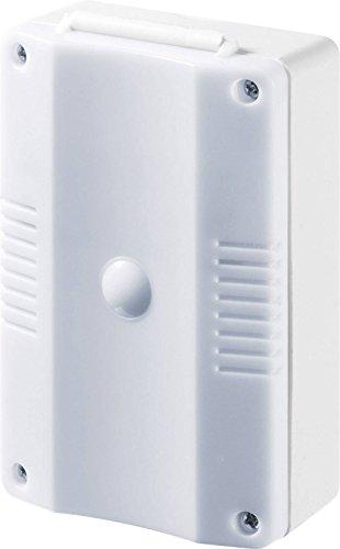 GEV Dämmerungsschalter mit Funkuhr Aurora LCT 865, 230 V, Weiss