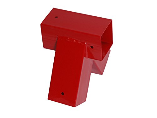 OTITU Just Fun Vierkant Schaukelverbinder 90/90mm, 90° - Rot