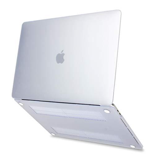 Batianda Hülle für 2018 MacBook Air 13 Zoll mit Retina A1932 Hartschale Tasche Schutzhülle Case 13-Zoll MacBook Air Laptop-Abdeckung,Matt Transparent