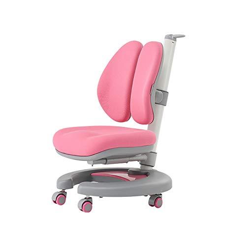 Tische Kindermöbel Kinder Schreibtisch (Kinderstuhl Stuhl Lernen Einstellbar Kind Schreibtisch und Stuhl Kindergarten Tisch und Stuhl,Pink)