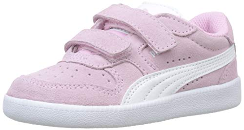 Puma ICRA Trainer SD V Inf, Scarpe da Ginnastica Basse Unisex-Bambini, Rosa (Pale Pink White), 25 EU