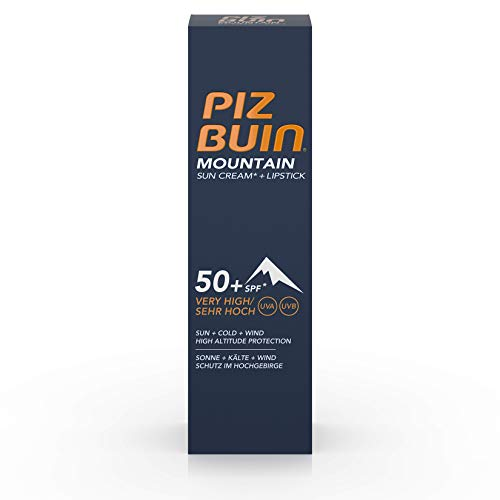 Piz Buin Mountain Suncream + Lipstick SPF 50-22