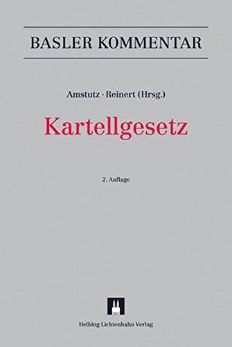 Kartellgesetz: KG (Basler Kommentar)