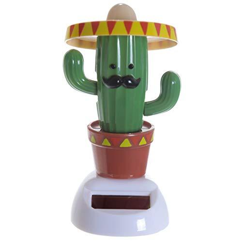 Solarfigur - Kaktus mit Hut Solar Figur ()