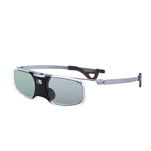 BOBLOV RX-30 3D DLP-Link 96-144 Hz Active Shutter Brille 8 M für BenQ Optoma Acer Sharp Samsung Mitsubishi DLP Link Projektor