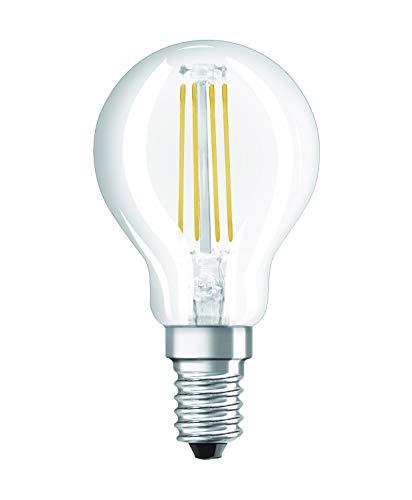 Osram 203298 Retrofit Classic Ampoule LED E14 4 W Plastique Blanc