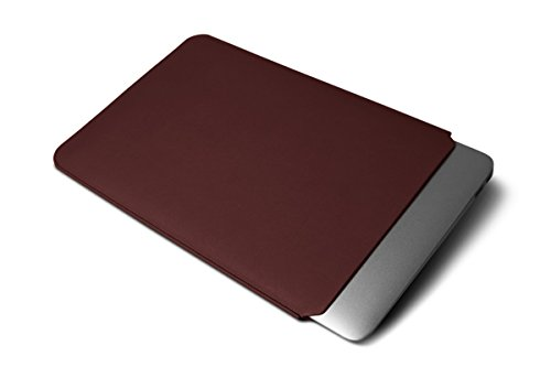 Lucrin - Housse MacBook Air 13 Pouces - Cuir Lisse