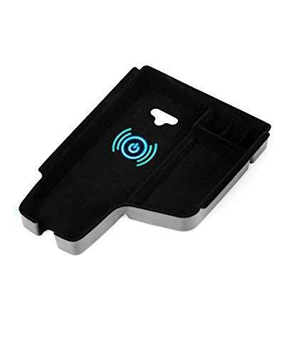 SUNSHAN Drahtlose Charging-Box, Central Storage Tray Armlehne Box Einbau-Smart Wireless Charger, geeignet für BMW 3er 2015-2019,BMW1Series