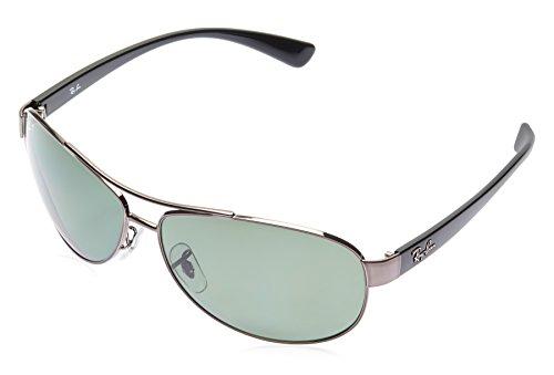 Ray-Ban Aviator Sunglasses (Gunmetal) (RB3386 004/9A63)