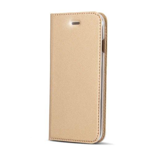 """BOOK CASE SMART PREMIUM Für Apple iPhone 7 4,7"""" Apple iPhone 7 Cover Handy Tasche Flipcase Etui Buchform Kunststoff TPU Halterung für Kreditkarten (Dunkel Blau / Navy Blue) Gold"""