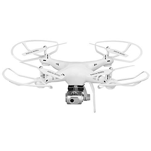 MFWFR Drohne,RC Drohne mit HD Kamera Live Ubertragung,Follow Me,Lange Flugzeit, Ferngesteuert Quadrocopter mit WiFi Kamera,Höhenhaltung,One Key Start/Landung,Headless Modus,White,WiFicamera