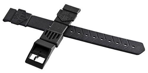 Tag Heuer Formula 1 Uhrenarmband Kunststoff schwarz 18mm