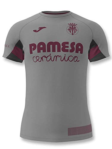 Joma - Villarreal Camiseta ENTRENO Gris 19/20 Hombre