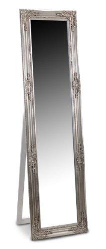 Espejo de Pie Plateado Resina 164x44 cm