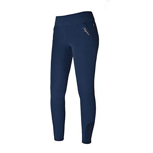 Kingsland Damenreithose KATJA Pullon-Reitleggings mit Full-Grip, E-Tec Größe 42, Farbe Midnight Blue -