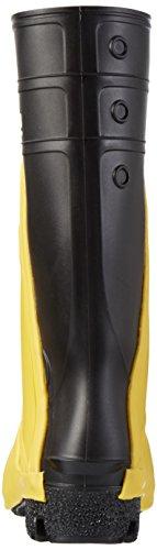 Nora Ultra 12, Chaussures de Football Homme Noir - Schwarz (schwarz-gelb 14)
