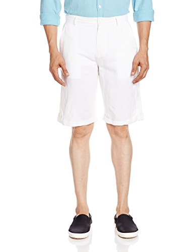 People Men's Linen Shorts