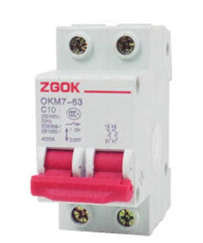 Low-voltage-switch (OIASD Miniature Circuit Breaker air Switch C10 Open Switch Low Voltage Electrical 10A 2P)