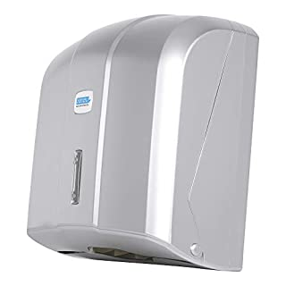 Aviva Paper Hand Towel Dispenser 400 Sheets Chrome-Plated High Quality Also Suitable for Practice and Hospital Use