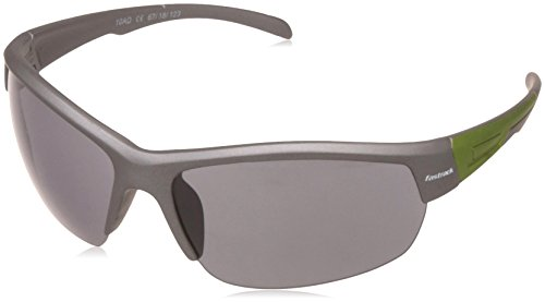Fastrack UV Protected Sport Men\'s Sunglasses - (P355BK2|67|Smoke (Grey / Black) Color)