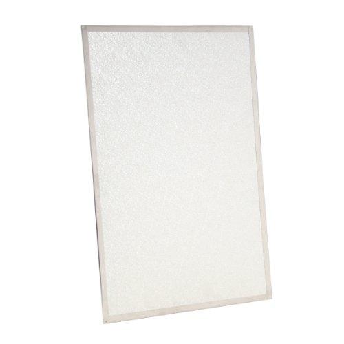 Kamino-Flam Hitzeschutzplatte asbestfrei - Funkenschutzplatte 1100°C hitzebeständig - Wärmeschutzplatte mit Edelstahlrahmen - 800 x 500 x 3 mm Test