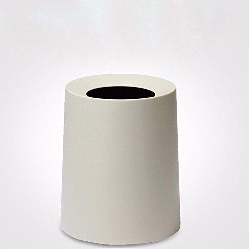 KPHY-Los botes de basura, botes de basura, WC papeleras,Blanco