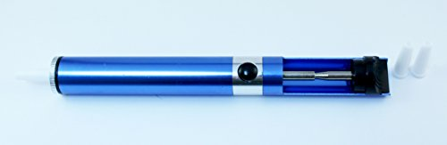 KnnX 28108   Bomba desoldadora de estaño a pistón con Tres boquillas