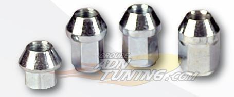 ADNAuto 15580 20 Ecrous Coniques Ouverts 1/2 Unf20-L2 17Mm-Cle 19