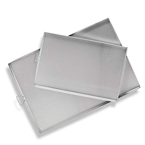 Vaello Campos Horno Rectangular Aluminio - Bandeja de Horno Todas Las Medidas...