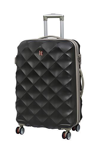 It luggage Debossed Diamond 8 Wheel Single