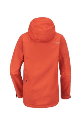 maier sports Tomatlan - Giacca da uomo, Nero (nero), 50 Arancione - Orange.Com