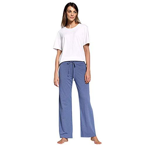 Voicry Jeans Hosen für männer Jeans Hosen für Damen Jeans Jeans Damen high Waist Jeans Damen Replay Jeans(Blau,Small)