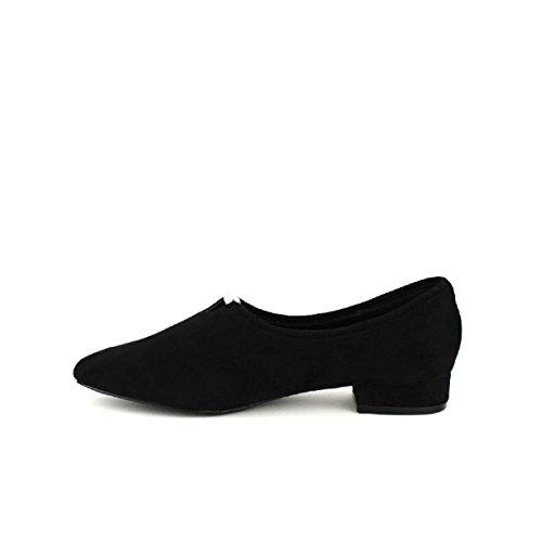 Cendriyon Ballerine Noire MONBINE Chaussures Femme Noir