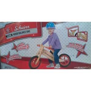 schwinn wooden balance bike