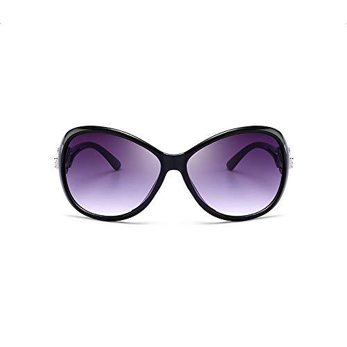 ZUEN Sonnenbrille Round Frame Retro Sonnenbrille Men ' S and Women ' S Versatile Sonnenbrille,J