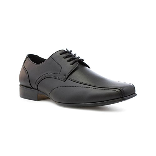 Beckett Mens Black Formal Lace Up Shoe - Size 8 - Black